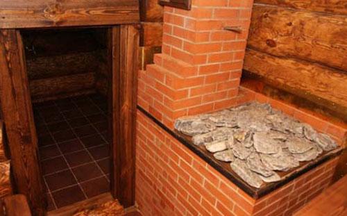 Банная печь кирпичной кладки. Преимущества и недостатки банных печей.